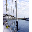Shroud clips for boathook