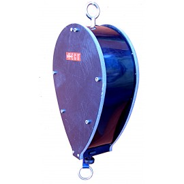 Caution-Zone Buoy - Belt Retraction Mechanism with Locking