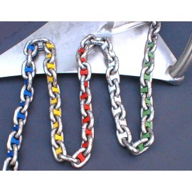 Chain Markers, color-coded, for 8 mm anchor chain