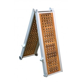 Gangway model Light with Teak folding 2m and 2.5m